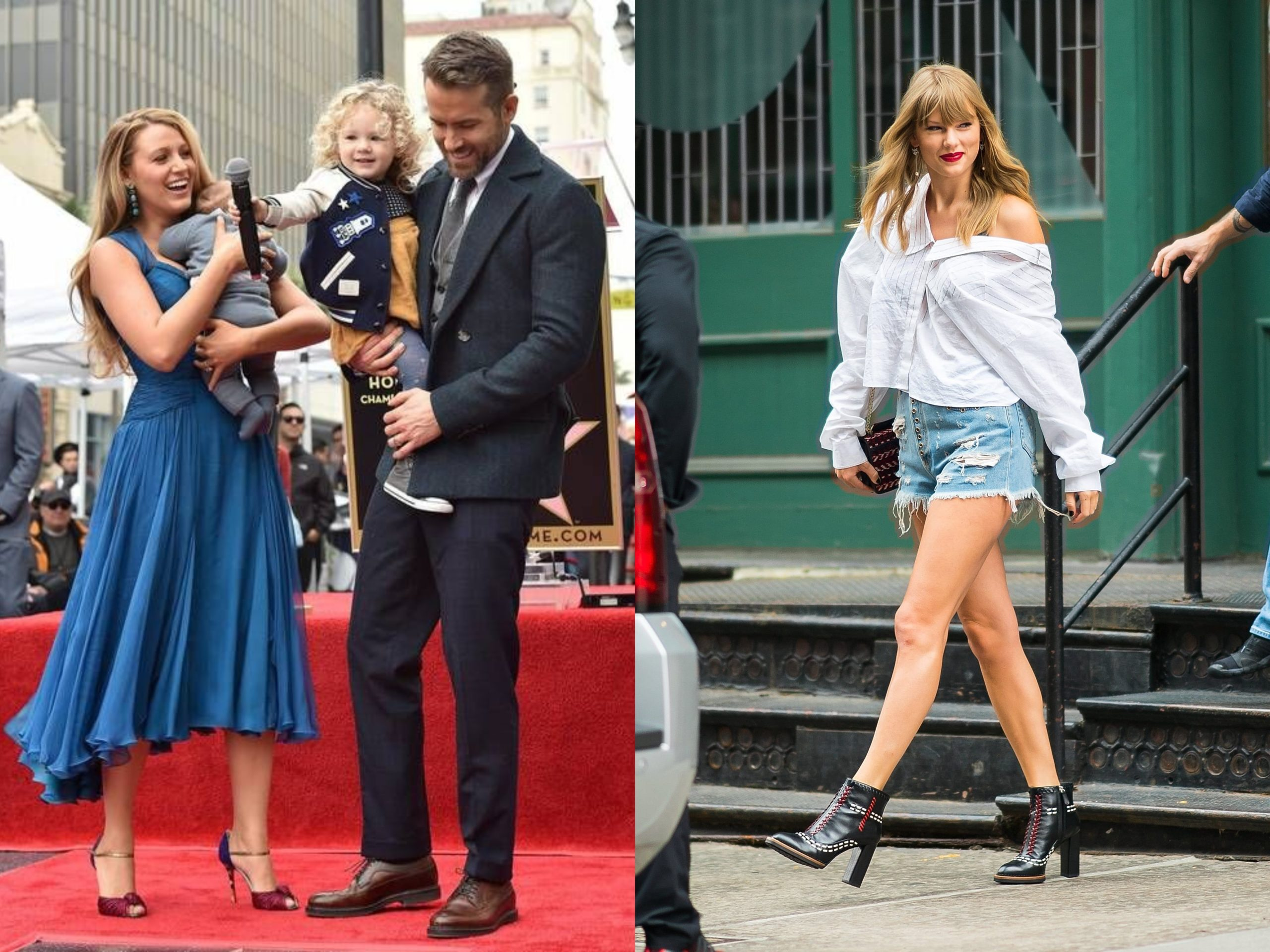 Why Fans Think Taylor Swift Revealed Blake Lively And Ryan Reynolds 3rd Child S Name Is Betty Celebrities Lifestyle