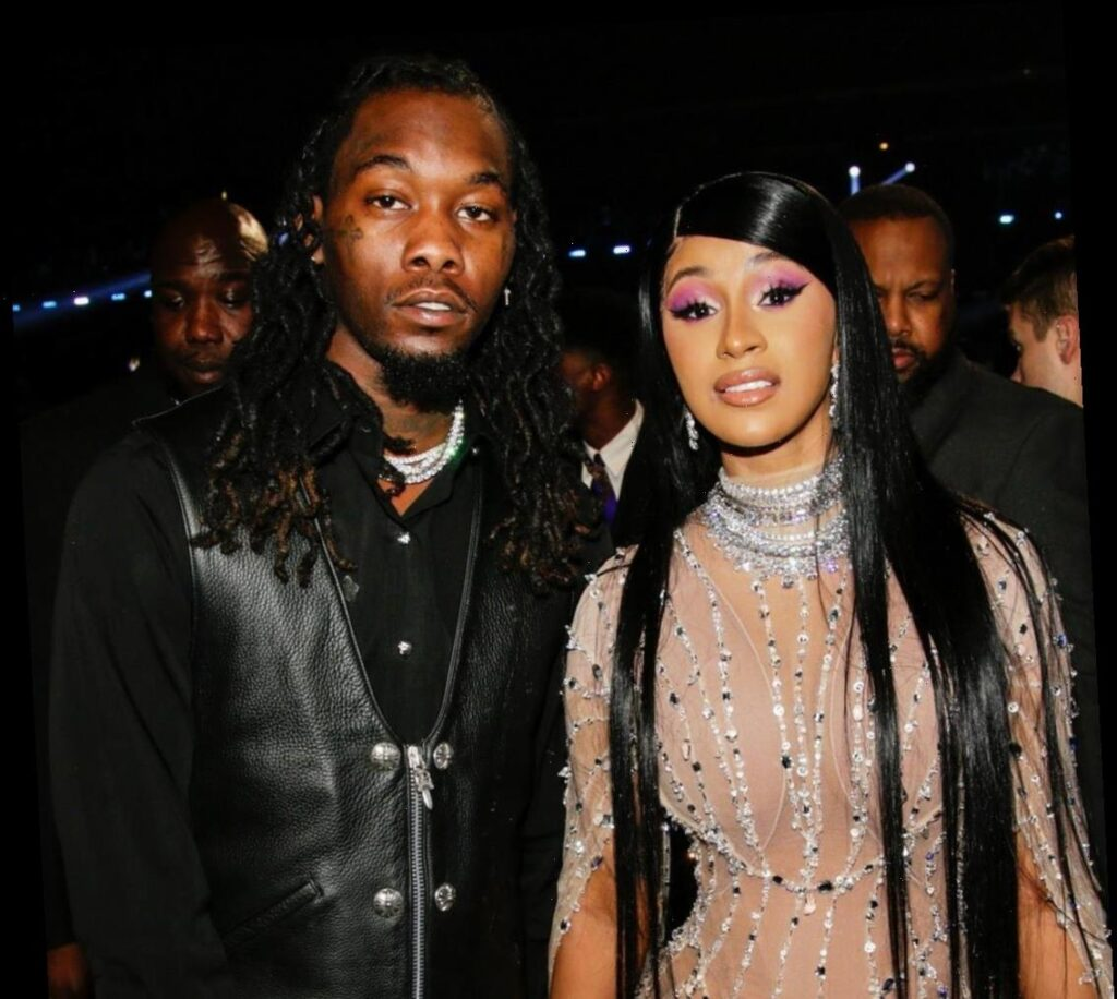 Cardi B Kisses Offset During Lavish Birthday Party One Month After Filing For Divorce Celebrities Lifestyle